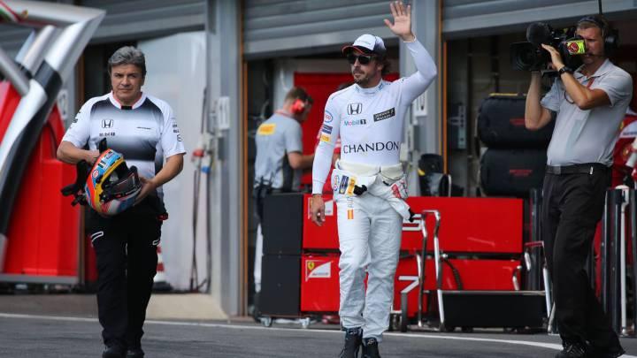 """Alonso: """"Veremos velocidades muy serias en rectas de Monza"""""""