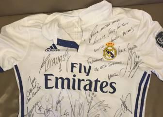 El regalo del Real Madrid a Carlos Sainz por su cumpleaños