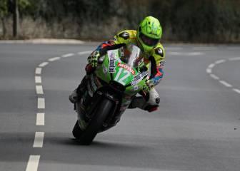 Víctor López, el español más rápido en la Isla de Man