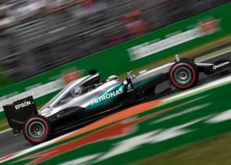 Sólo Mercedes luchará por la pole; Sainz 13º y Alonso 17º