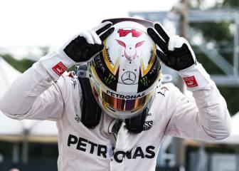 Hamilton deslumbra en Monza con Alonso y Sainz fuera de Q3