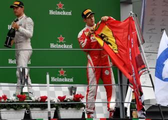"Sebastian Vettel anima a los tifosi: ""Ferrari volverá"""