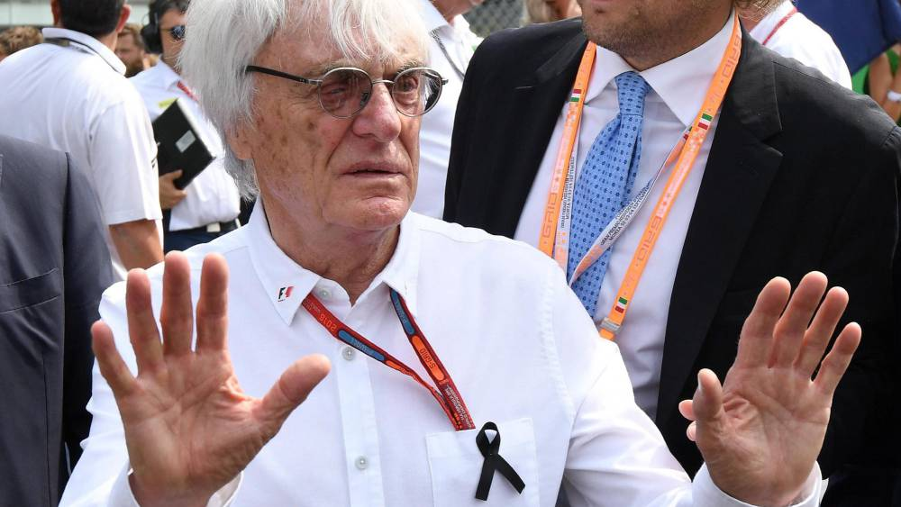 Resultado de imagen de Adios Ecclestone F1