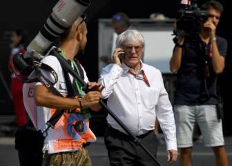 Liberty pide a Ecclestone que siga en la F1 tres años más