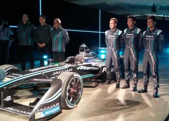 Jaguar presenta su Fórmula E para
