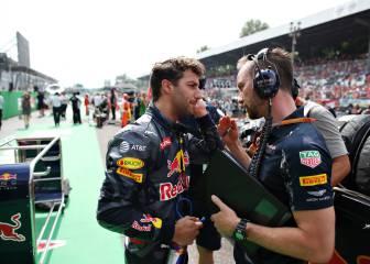 Ricciardo alaba a Horner: