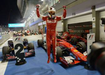 Vettel y Ferrari ya saben cómo batir a Mercedes en Singapur
