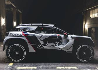 Peugeot presenta el arma de Sainz para el próximo Dakar
