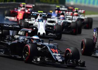 Alonso es el piloto que más puestos adelanta en las salidas
