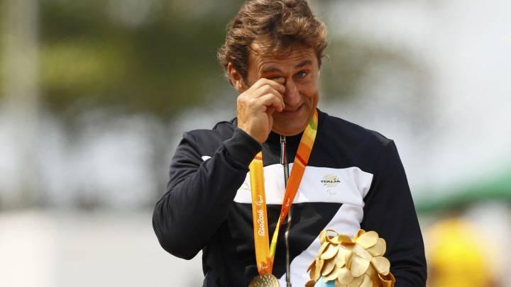 Zanardi, expiloto de F1, logra en Río su tercer oro paralímpico