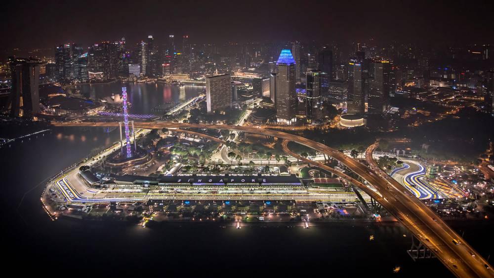 Circuito F1 Singapur : Marina bay cómo y dónde ver el gp singapur de f horarios
