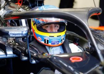 Alonso y Hamilton, los últimos con el Halo... y bajo los focos