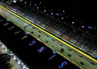 La pole en el GP de Singapur casi garantiza una victoria