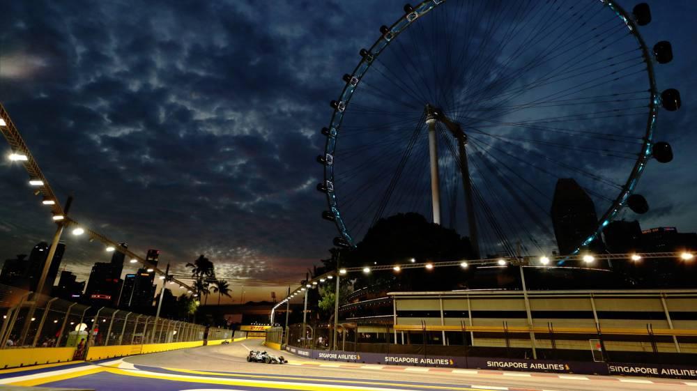 Circuito F1 Singapur : Gp de singapur de f en directo clasificación as