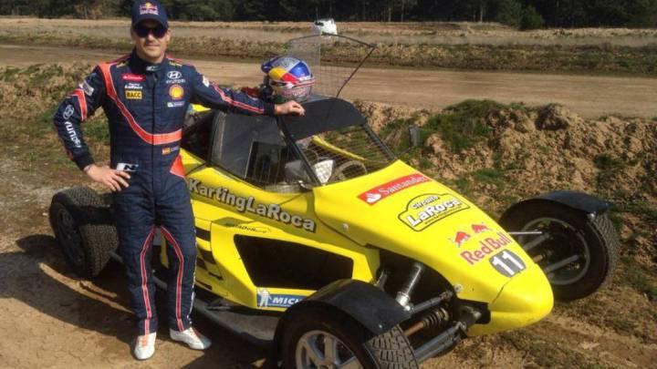 Dani Sordo también se apunta al Rallycross en Montmeló