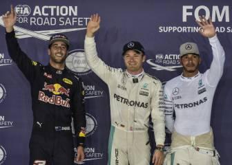 Las mejores imágenes de la calificación del GP de Singapur