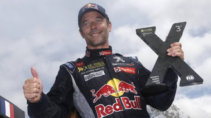 "Sebastien Loeb: ""Mi objetivo es ganar el próximo Dakar"""