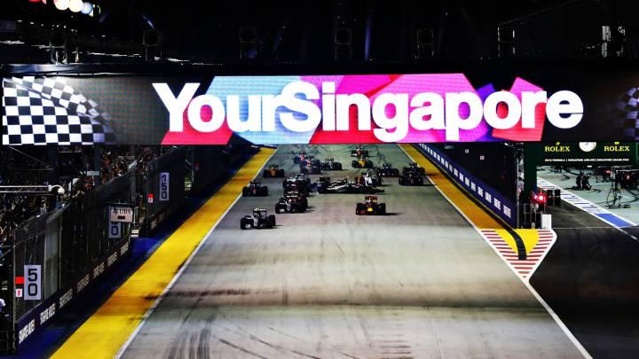 Uno por uno del GP de Singapur