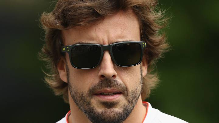 """Singapur alegra a Alonso: """"El podio es posible este año"""""""