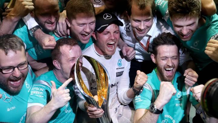 """Wolff y la victoria de Rosberg: """"Casi nos meamos encima"""""""