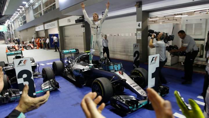 Los datos dan el título a Rosberg: nadie lo perdió con ocho triunfos
