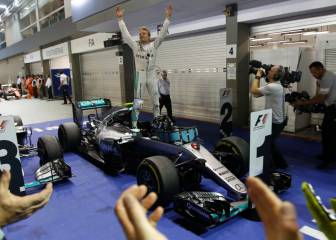 ¿Ganará el Mundial Rosberg? Nadie lo perdió con 8 triunfos
