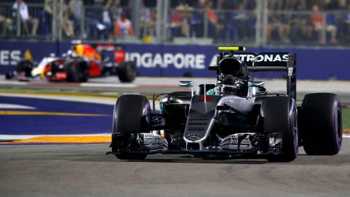 Rosberg ganó por 0.4 segundos: la menor renta desde... ¡2010!