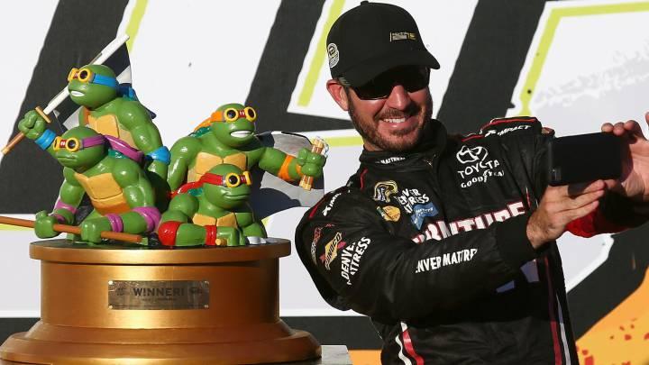 Gana a una carrera y le dan a las Tortugas Ninja como trofeo