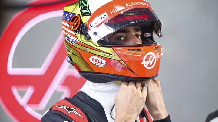 "Haas defiende a Gutiérrez: ""Es el 'punching ball' del momento"""