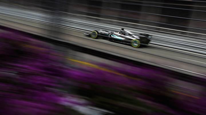 Mercedes desmiente que posean un control de tracción