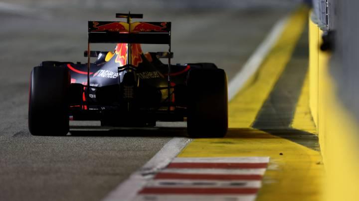 """Red Bull: """"Para ganar nos hace falta algo: lluvia, degradación..."""""""