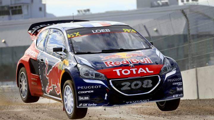 El Peugeot de Loeb es más rápido que un F1 de 0 a 100