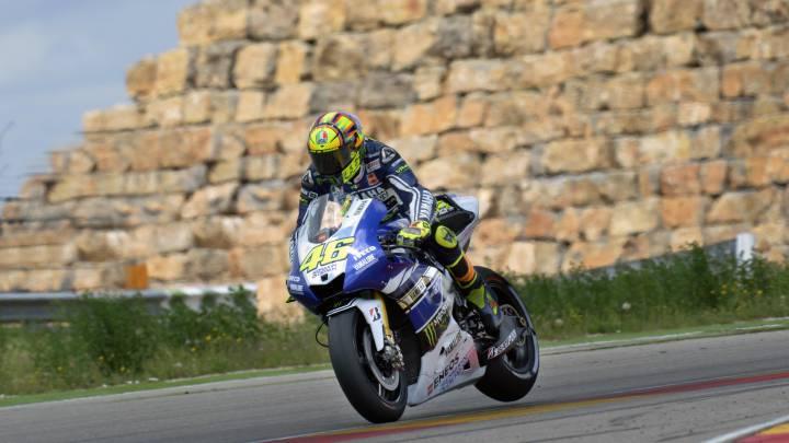 MotorLand: la pista que más se le atraganta a Rossi en MotoGP