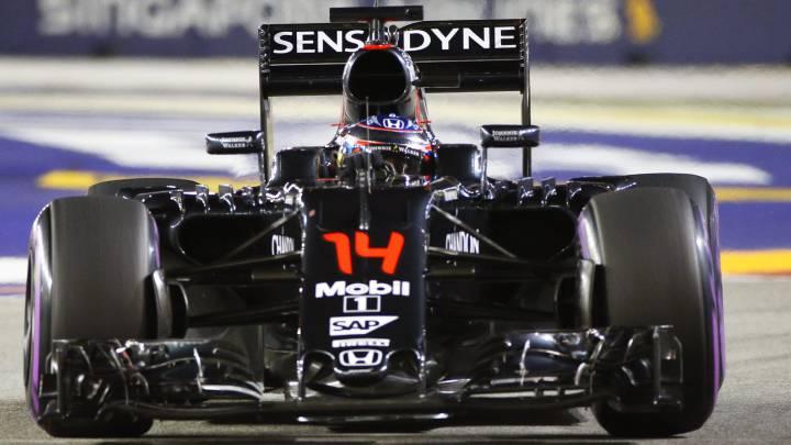 """Alonso sigue confiando en McLaren: """"Ganaremos"""""""