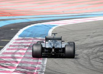 Wehrlein prueba las gomas de lluvia de 2017 con Mercedes