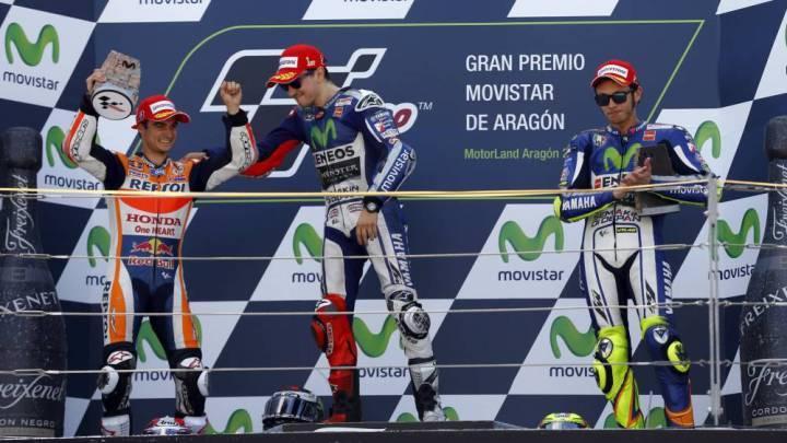 ¿Quién crees que ganará la carrera de MotoGP en Aragón?