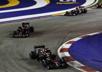 Alonso puede con Button y Carlos Sainz destroza a Kvyat