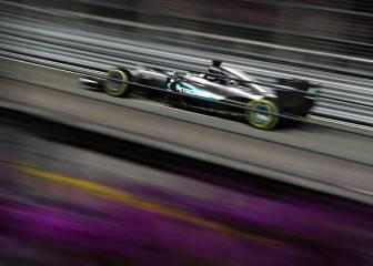 Mercedes llegó en Singapur a los 1.000 caballos de potencia