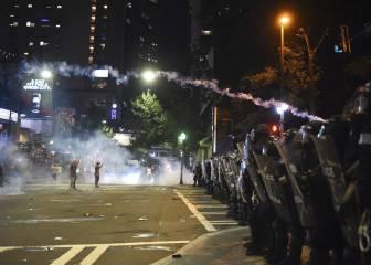 Los disturbios en Charlotte dañan la sede de la NASCAR