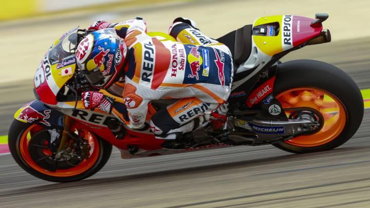 Repaso de Honda con Pedrosa, Márquez y Crutchlow delante