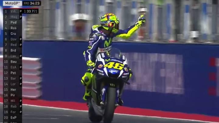 La peineta de Rossi a Aleix cambia las normas de MotoGP