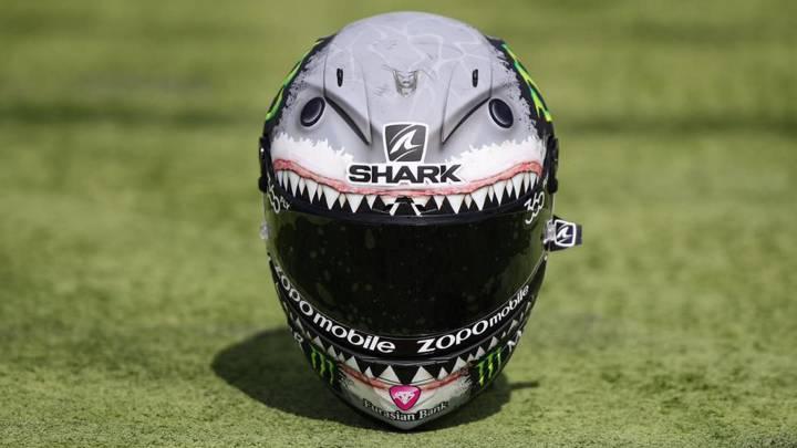 El 'tiburón' de Lorenzo reabre la polémica con Rossi en Aragón
