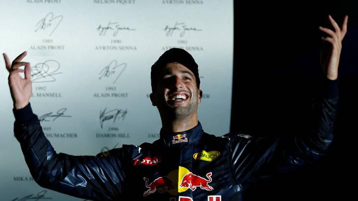 """Ricciardo: """"¿Campeón de 2016? Me la juego por Rosberg"""""""