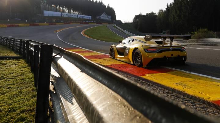 Robert Kubica regresa al podio en Spa Francorchamps