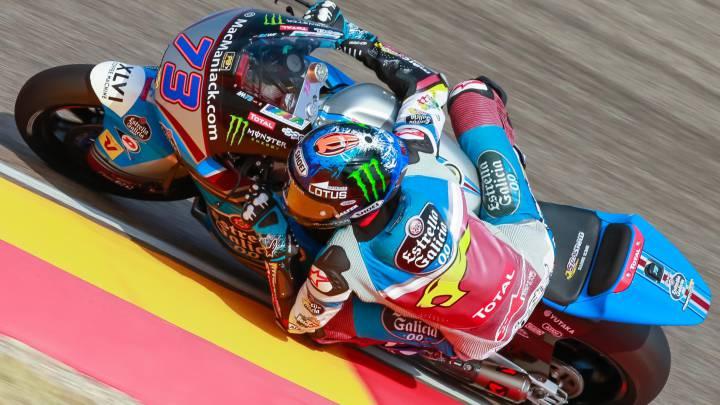 Álex Márquez roza su primera pole en la categoría de Moto2