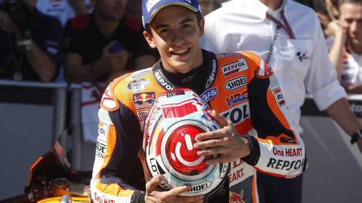 """Márquez: """"Hay que hacer un buen domingo y rematar el GP"""""""