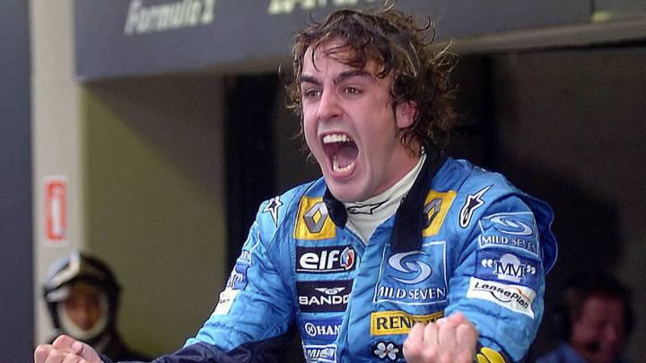 Primer título: once años del 'toma, toma' de Alonso en Brasil