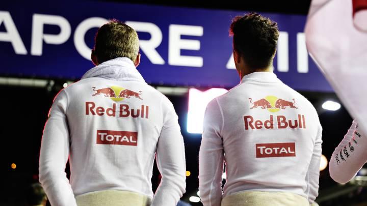 Ricciardo domina a Verstappen por ahora en Red Bull