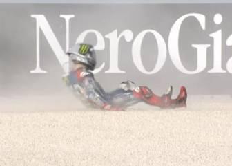 Rápida caída de Lorenzo en un warm up liderado por Márquez