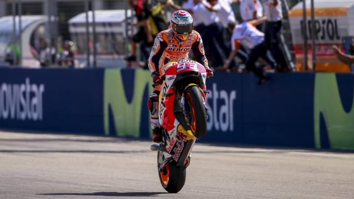Márquez: campeón en Japón si gana, Rossi 14º y Lorenzo 4º